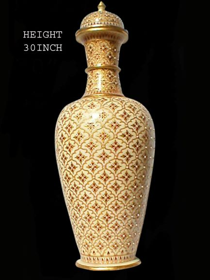 Vase Gold Plated